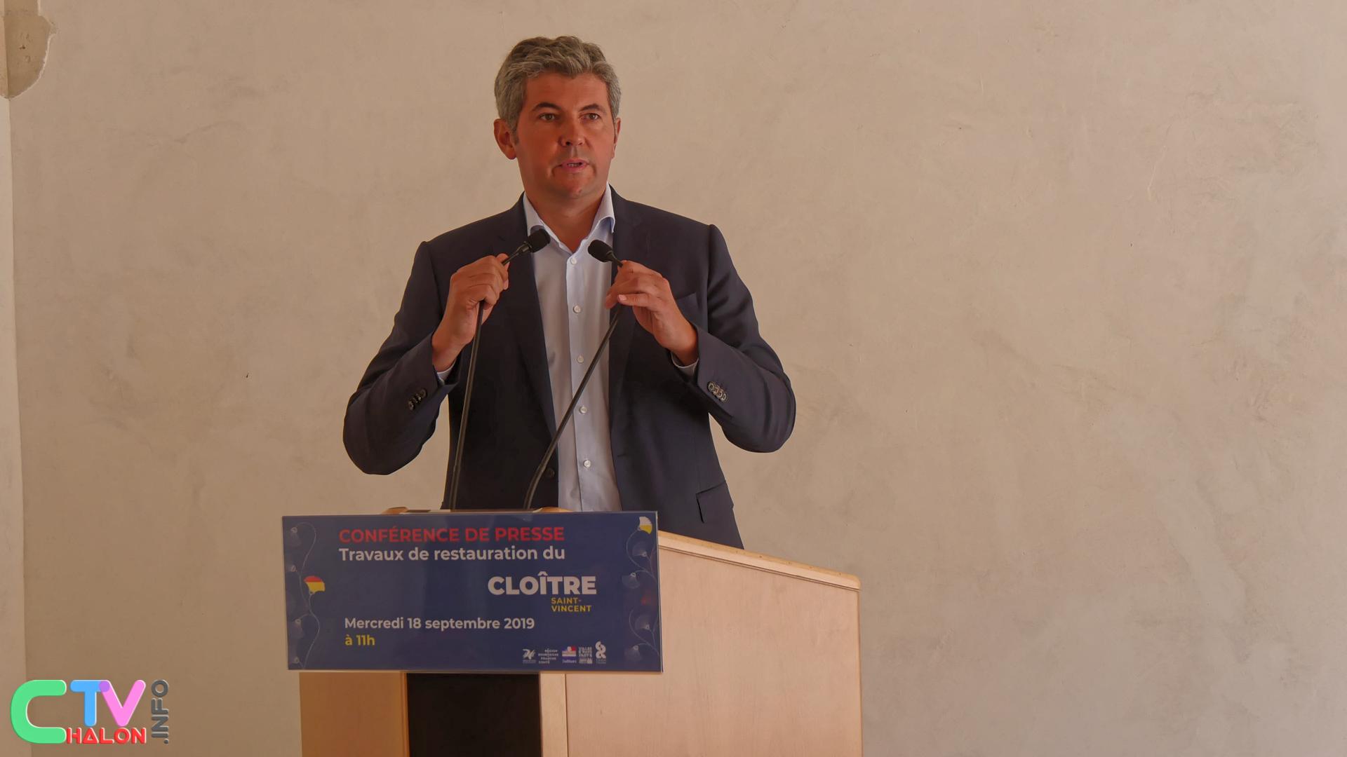 Gilles Platret, Maire de Chalon