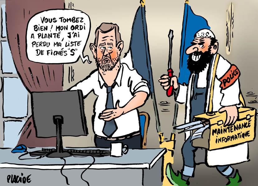 """Résultat de recherche d'images pour """"dessin castaner et l'islam"""""""""""
